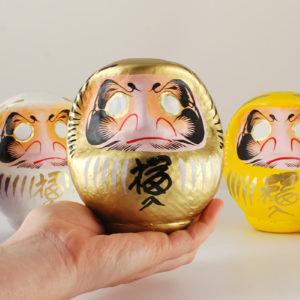 Daruma gold, 11 cm