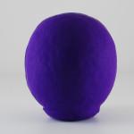 Дарума purple, 11 см, вид сзади