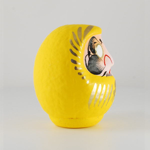 Daruma yellow, 11 cm