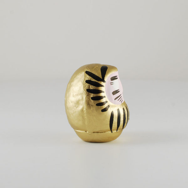 Daruma gold, 6cm