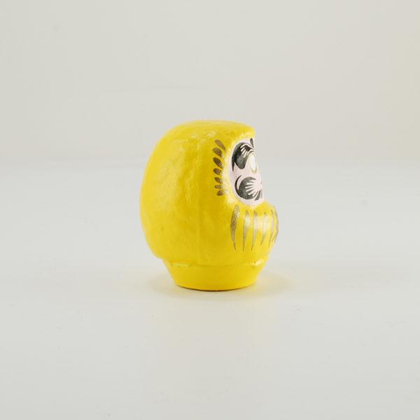 Кукла Дарума, 6см, желтая