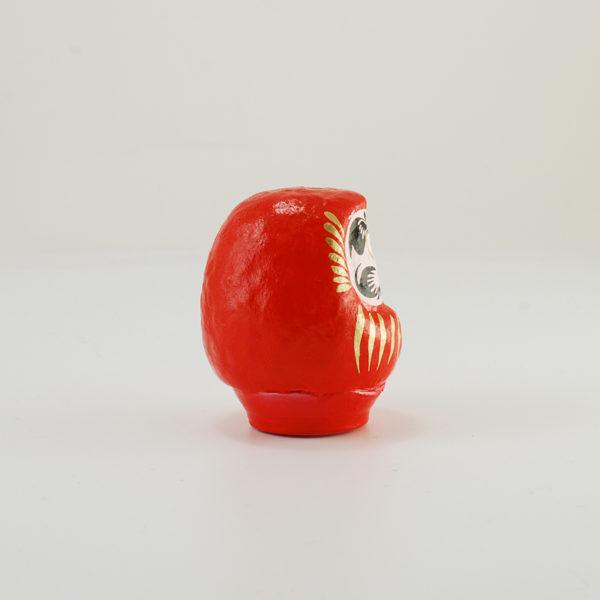Японская кукла Дарума, красная, 6 см