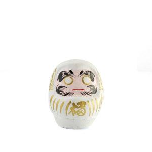 Японская кукла Дарума, белая, 6 см