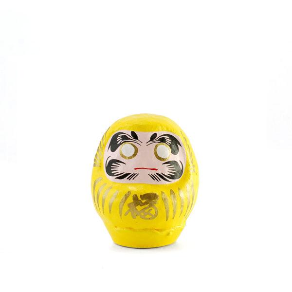 Дарума Yoshida, 6см, желтая