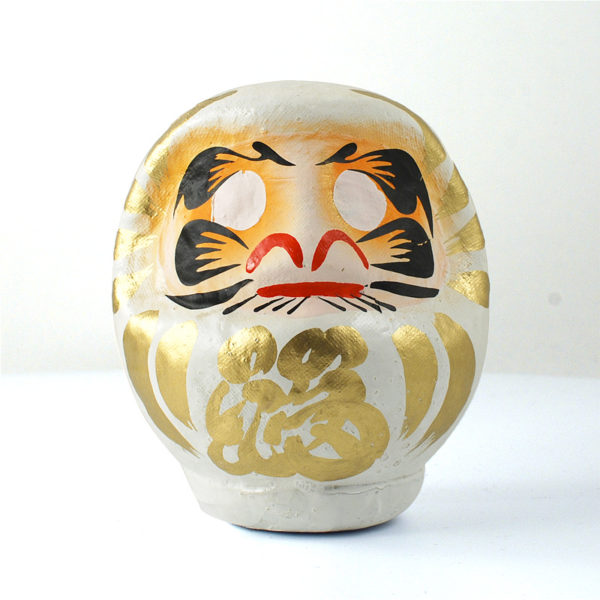 Daruma Takasaki, white, 11 см