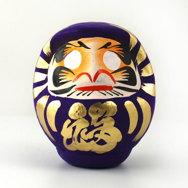 Дарума purple, 11 см, Takasaki