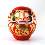 Дарума Такасаки, 11 см, красная