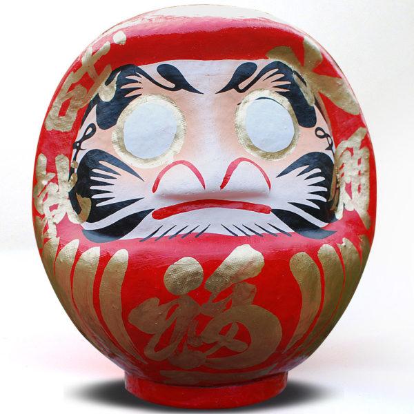 Дарума Такасаки, 19 см, красная