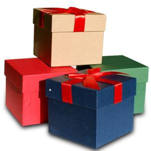 Подарочная коробка 12 см