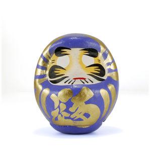 Дарума Takasaki, синяя, 9 см