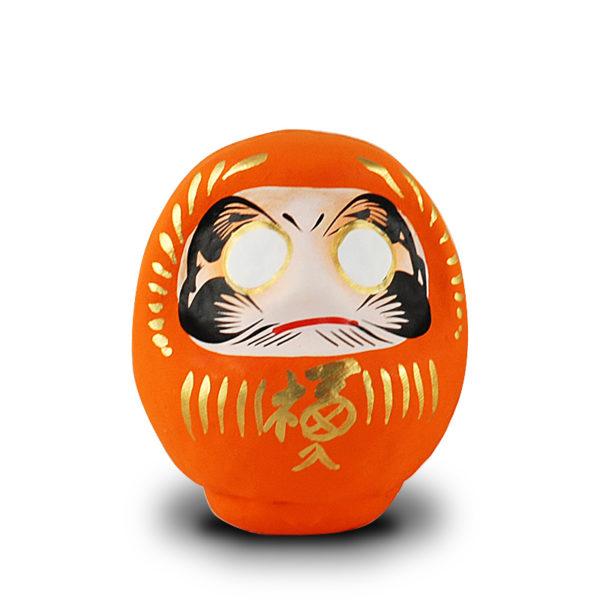 Дарума оранжевая, Yoshida, 9 см