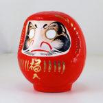 Дарума Yoshida, красная, 11 см