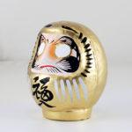 Дарума золотая, Yoshida, 9 см